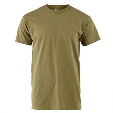 MJ Soffe Tan 100% Cotton TEE 3 Pack Style #685M-3