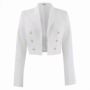Women's Formal Dress White Jacket
