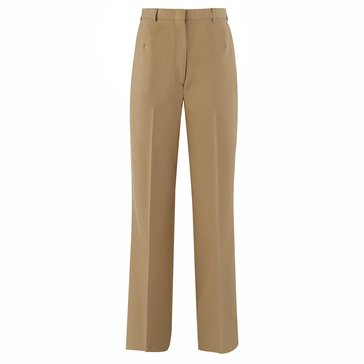 Women's Khaki Poly/Wool Slacks