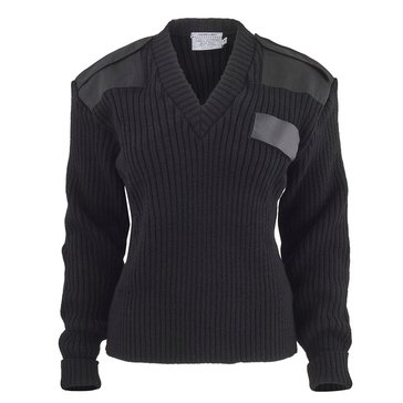 Women's V-Neck Wool Sweater