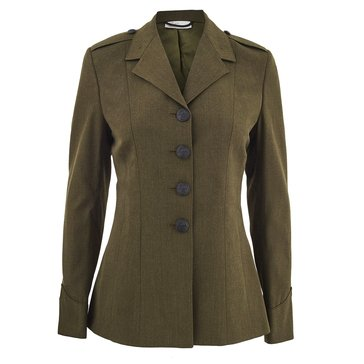 USMC Women's Green Poly/Wool Coat