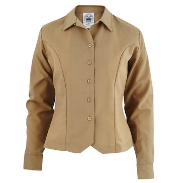 USMC Women's Khaki Long Sleeve Shirt