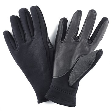 USMC Black Fleece Dress Gloves