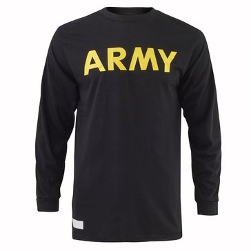 Army Long Sleeve Physical Training Shirt