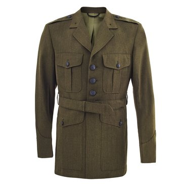 USMC Men's Green Poly/Wool Coat