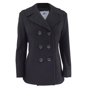 Navy Women's Peacoat