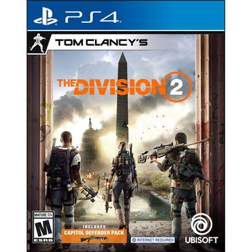 PS4 Tom Clancy The Division 2 Limited ed