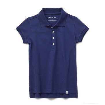 Liberty & Valor Little Girls' Polo