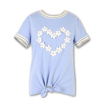 Speechless Big Girls' Applique Daisy Top