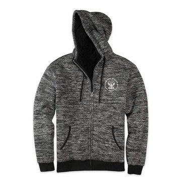 Top Of The World Men's USN Leland Sherpa Lined Full Zip Hoodie