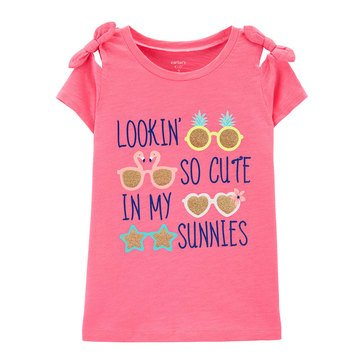 Carter's Little Girls' Lookin Cute Tee