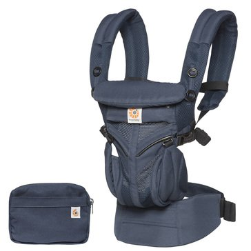 Ergobaby Omni 360 Baby Carrier All-In-One Cool Air Mesh, Midnight Blue