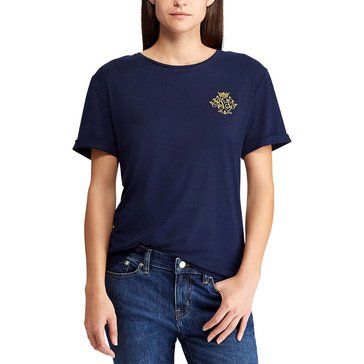 Ralph Lauren Women's Sinead Short Sleeve Tee