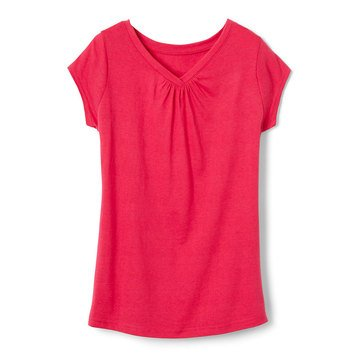 Yarn & Sea Toddler Girls' Vneck Tee