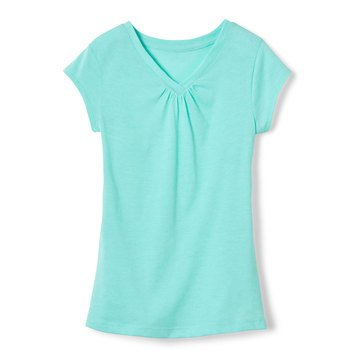 Yarn & Sea Little Girls' V-neck Tee