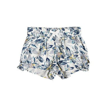 Roxy Little Girls' West South Print Woven Bubble Short