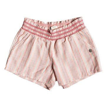 Roxy Little Girls' Girly Moment Smock Waist Shorts