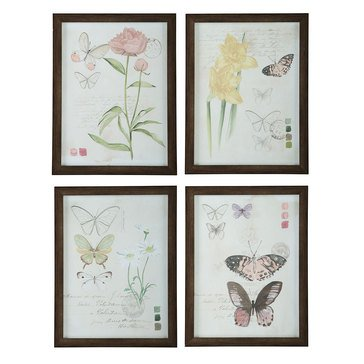 Signature Design by Ashley Carlisia Wall Art, Set of 4