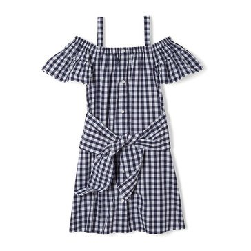Yarn & Sea Little Girls' Tie Front Dress