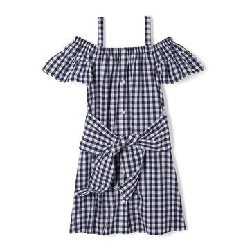 Yarn & Sea Toddler Girls' Tie Front Dress