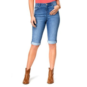 Style & Co Women's Denim Bermuda Shorts