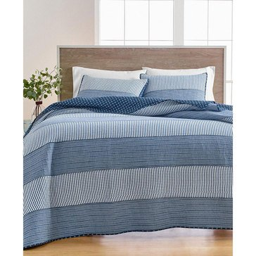 Martha Stewart Nautical Stripe Quilt