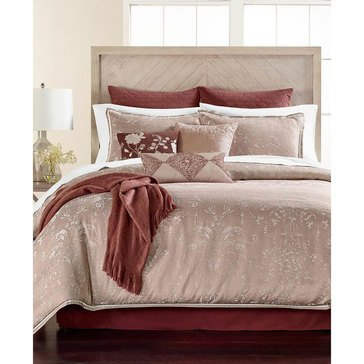 Martha Stewart Collection Damask 14-Piece Comforter Set, King