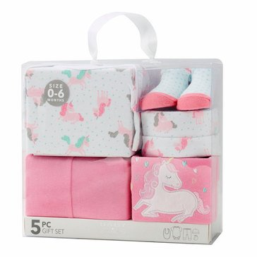BABY By bon bebe Baby Girls' 5-Piece Gift Set