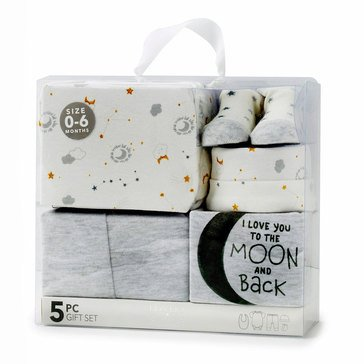 BABY By bon bebe Newborn 5-Piece Gift Set