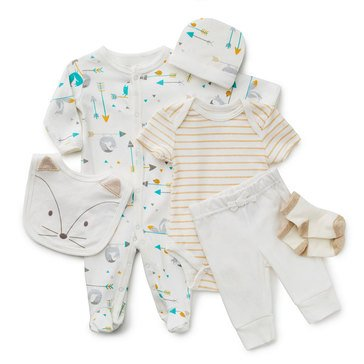 Rene Rofe Baby Boys' Fox 6-Piece Take Me Home Set