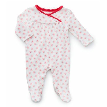 Rene Rofe Baby Girls' Magical Meadow Footie Coveralls