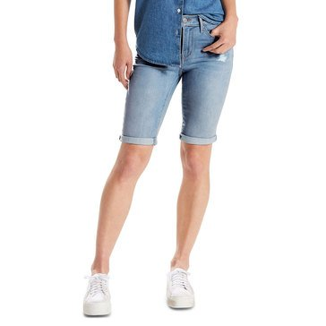 Levi's Women's Bermuda Destructed Shorts