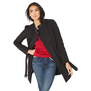 Kenneth Cole Women's Belted Wrap Jacket