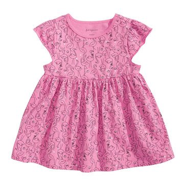 First Impressions Baby Girls' Flamingo Tunic