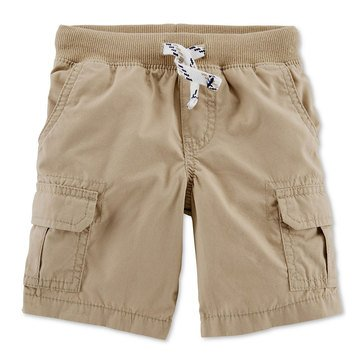 Carter's Toddler Boys' Woven Cargo Pull On Shorts