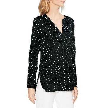 Vince Camuto Women's Tossed Dot Tunic