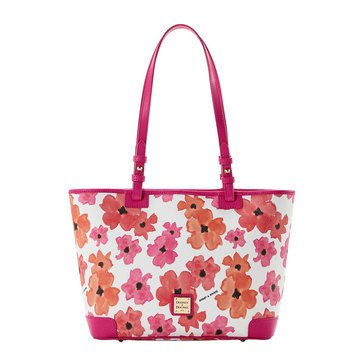 Dooney & Bourke Bloom Small Leisure Tote Red