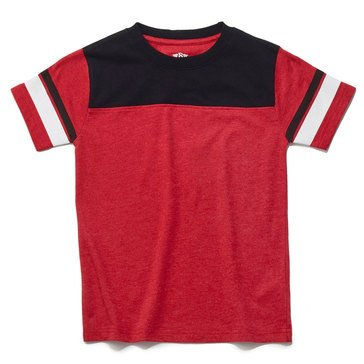Eight Bells Big Boys' Short Sleeve Football Tee