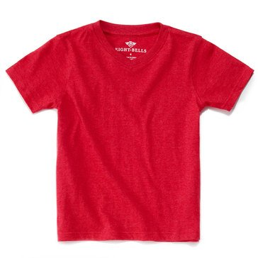 Eight Bells Little Boys' Short Sleeve V Neck School Tee