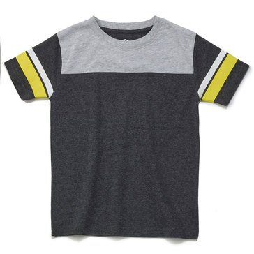 Eight Bells Little Boys' Short Sleeve Football Tee