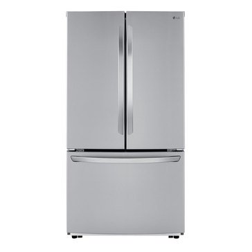 LG 22-Cu.Ft. French Door Counter-Depth Refrigerator, Stainless Steel (LFCC22426S)