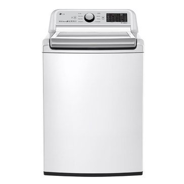 LG 5.0-Cu.Ft. Top Load Washer, White (WT7300CW)