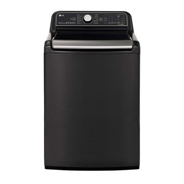 LG 5.4-Cu.Ft. Top Load Washer, Black Stainless Steel (WT7900HBA)