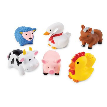 Mudpie Farm Animal Bath Toys