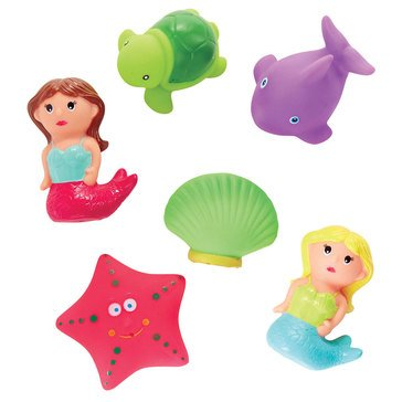 Mudpie Mermaid Rubber Bath Toys