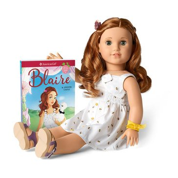 American Girl Blaire Wilson's Doll and Book