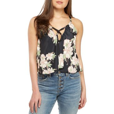Free People Women's Line Up Printed Cami