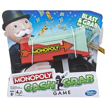 Monopoly Cash Grab Edition Game
