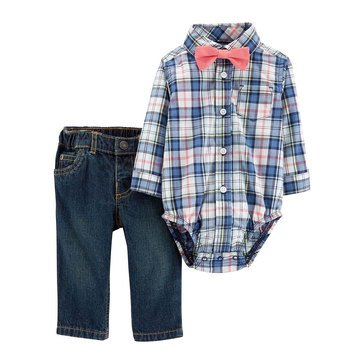 Carter's Baby Boys' 3-Piece Dress Me Up Bowtie Set