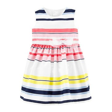 Carter's Baby Girls' Multi Stripe Dress